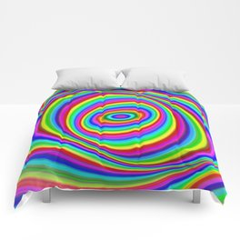Rainbow Hypnosis Comforters