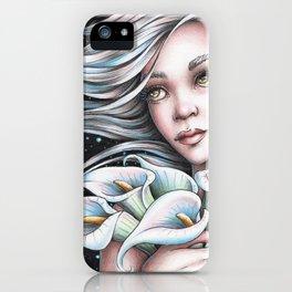 Calla Lily Fairy iPhone Case