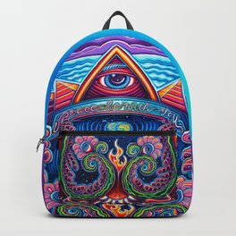 Peace Be With You Backpack