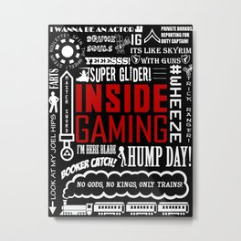 Inside Gaming Moments Metal Print