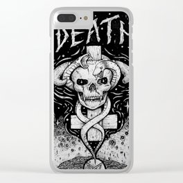 The Valley of Death Clear iPhone Case