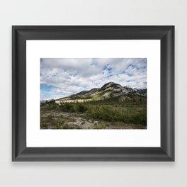 Green Rolling Hills Framed Art Print