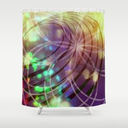 Disco Dream Shower Curtain