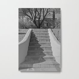 Above the Stairs Metal Print