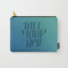 Take Your Time (Magic River) Carry-All Pouch