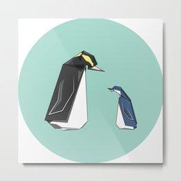 New Zealand Penguins Metal Print
