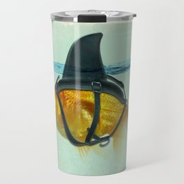 Brilliant DISGUISE - Goldfish with a Shark Fin Travel Mug