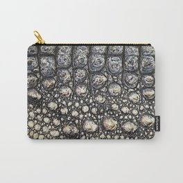 Crocodile Scale Carry-All Pouch