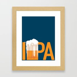 Beer: IPA Framed Art Print