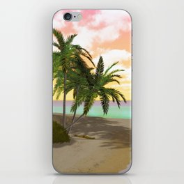 Dreamy Desert Island iPhone Skin