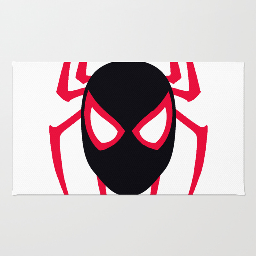 Spider Man Into The Spider Verse Rug by Outlanders RUG8581450