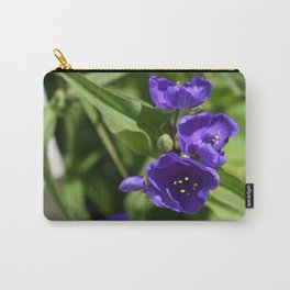Beautiful in Blue Carry-All Pouch