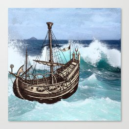 Sea Fever Canvas Print