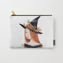 Sea Buckthorn Witch Carry-All Pouch