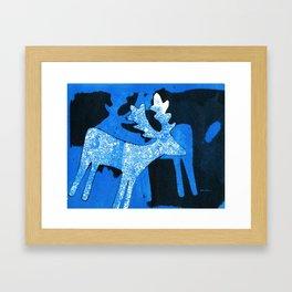 Reindeer III Framed Art Print
