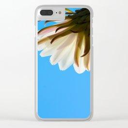Desert Flower Clear iPhone Case
