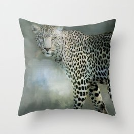 Spotted! Throw Pillow