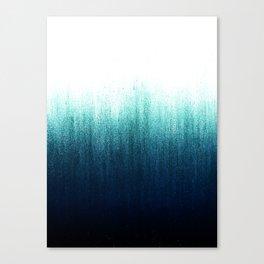 Teal Ombré Canvas Print