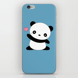 Kawaii Cute Panda Bear iPhone Skin