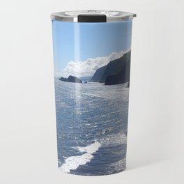 Where Valley Meets Ocean Travel Mug