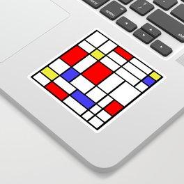 Mondrian #60 Sticker