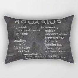 Aquarius traits Rectangular Pillow