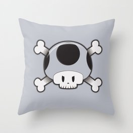 Toad Skull Throw Pillow