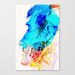 Anatomy Quain v2 Canvas Print