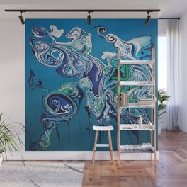 Water in now wetter Wall Mural