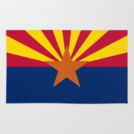 Arizona State flag, Authentic scale & color Rug