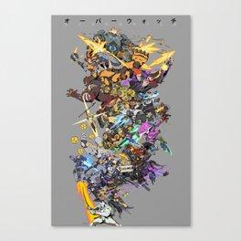 28 Heroes Canvas Print