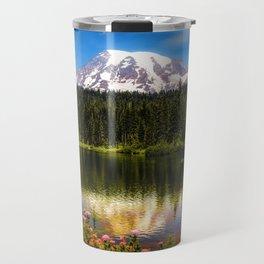 Mt. Rainier, Reflection Lake Travel Mug