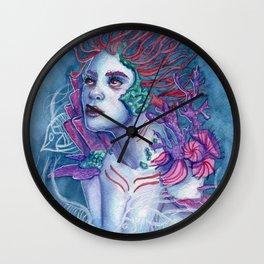 Gaia Of The Deep Wall Clock