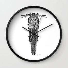 Vintage Italian 860 GTS Motorcycle Wall Clock
