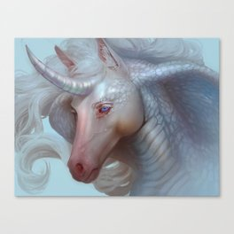 Unicorn Cobra Canvas Print