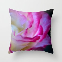 rose half full Throw Pillow