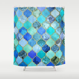 Periwinkle Shower Curtains
