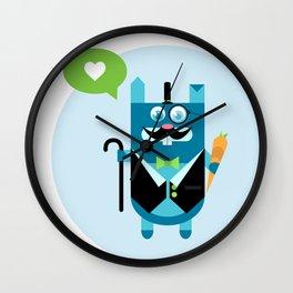 like a sir. Wall Clock