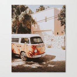 summer van / road trip Canvas Print