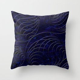 A Figure of Equilibrium Throw Pillow