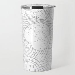 Fruit Faded Travel Mug