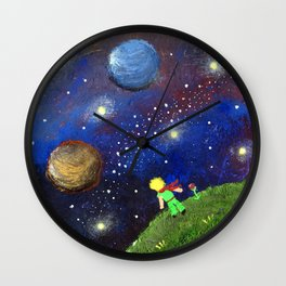 Little Prince Dream Wall Clock