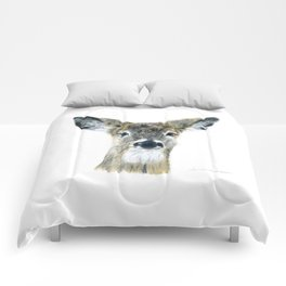 Doe Eyes by Teresa Thompson Comforters