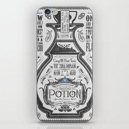 Legend of Zelda Blue Chu Potion Advertisement iPhone Skin