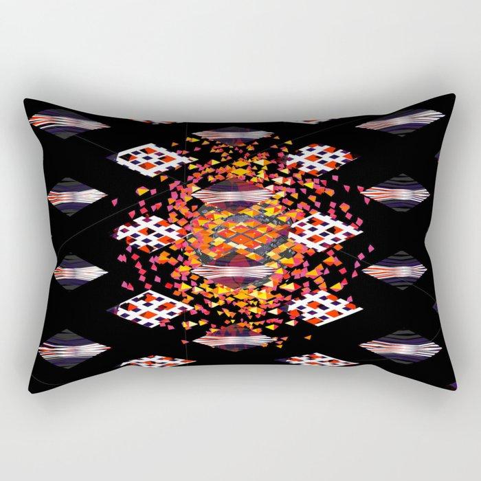 DigitalEthnic Rectangular Pillow