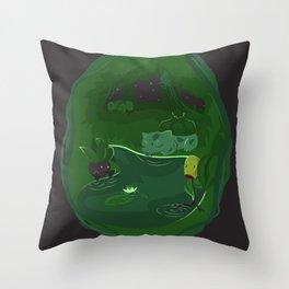 Ilex Forest Throw Pillow