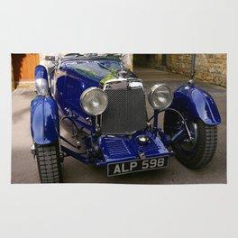 ASTON MARTIN 1933 (Colour Version) Rug