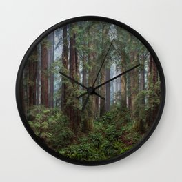 Morning In The Park Wall Clock