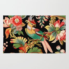 French Wallpaper Rug