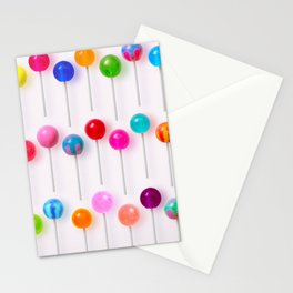 Lollipop Rainbow Stationery Cards